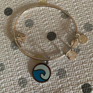 Alex and Ani wave bracelet